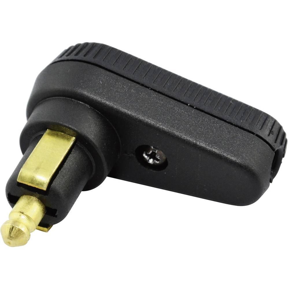 BAAS DIN-kotni vtikač BA12 maks. tokovna obremenitev: 8 A primeren za standardne vtičnice
