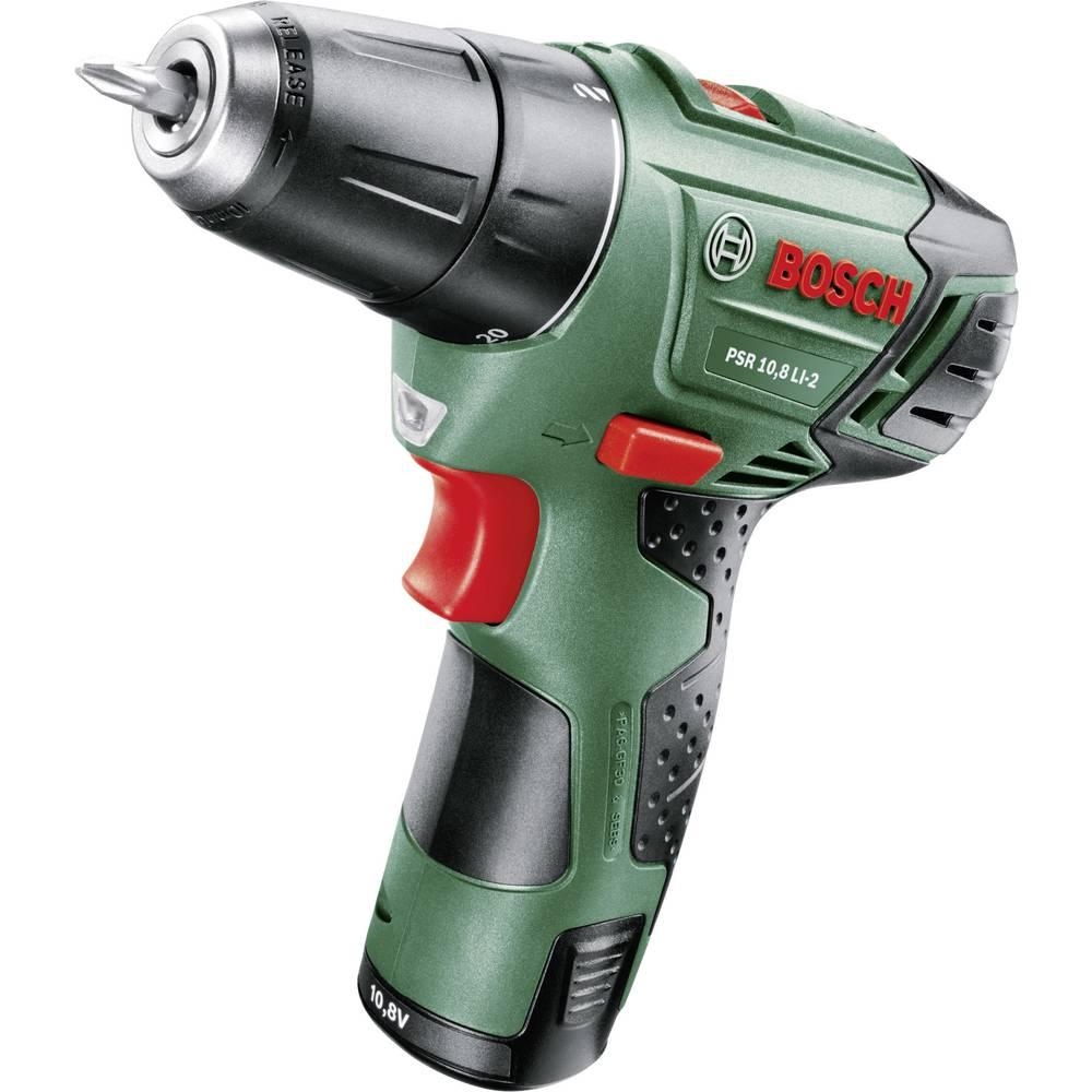 bosch psr 10.8 li-2 cordless drill 10.8 v 1.5 ah li-ion +