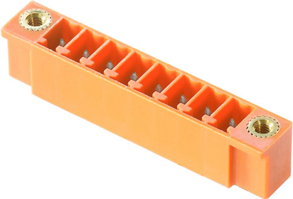 Vtični konektor za tiskana vezja oranžne barve Weidmüller 1943350000 vsebuje: 50 kosov