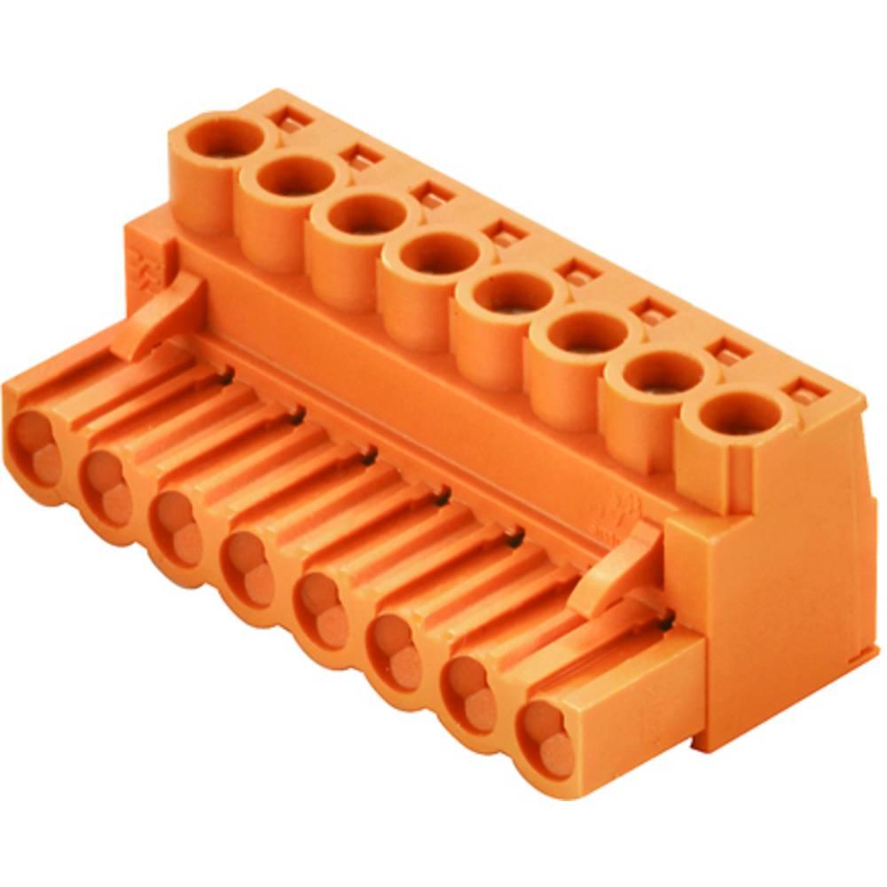 Vtični konektor za tiskana vezja Weidmüller 1943760000 vsebuje: 18 kosov
