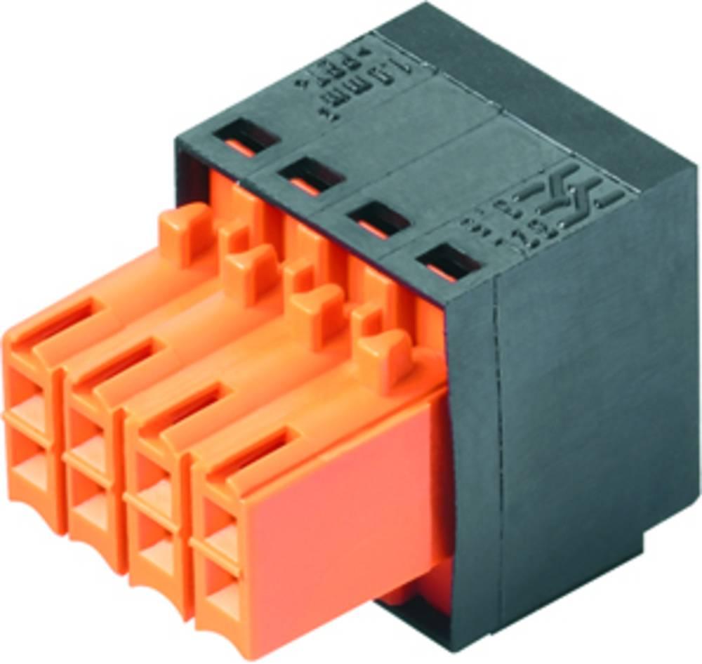 Vtični konektor za tiskana vezja črne barve Weidmüller 1944630000 vsebuje: 72 kosa