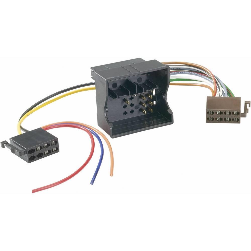 Bilradio-tilslutningsadapter AIV ISO Autoradio Adapter - Universal - Strom + 4 Lautsprecher - 0,2 M