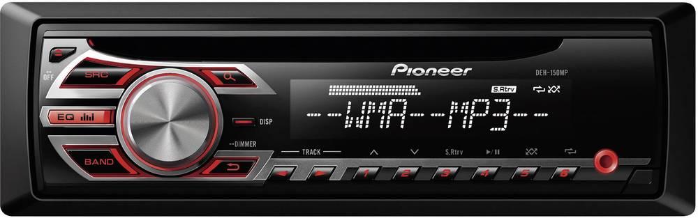 Bilradio Pioneer DEH-150MP Tilslutning til ratbetjening