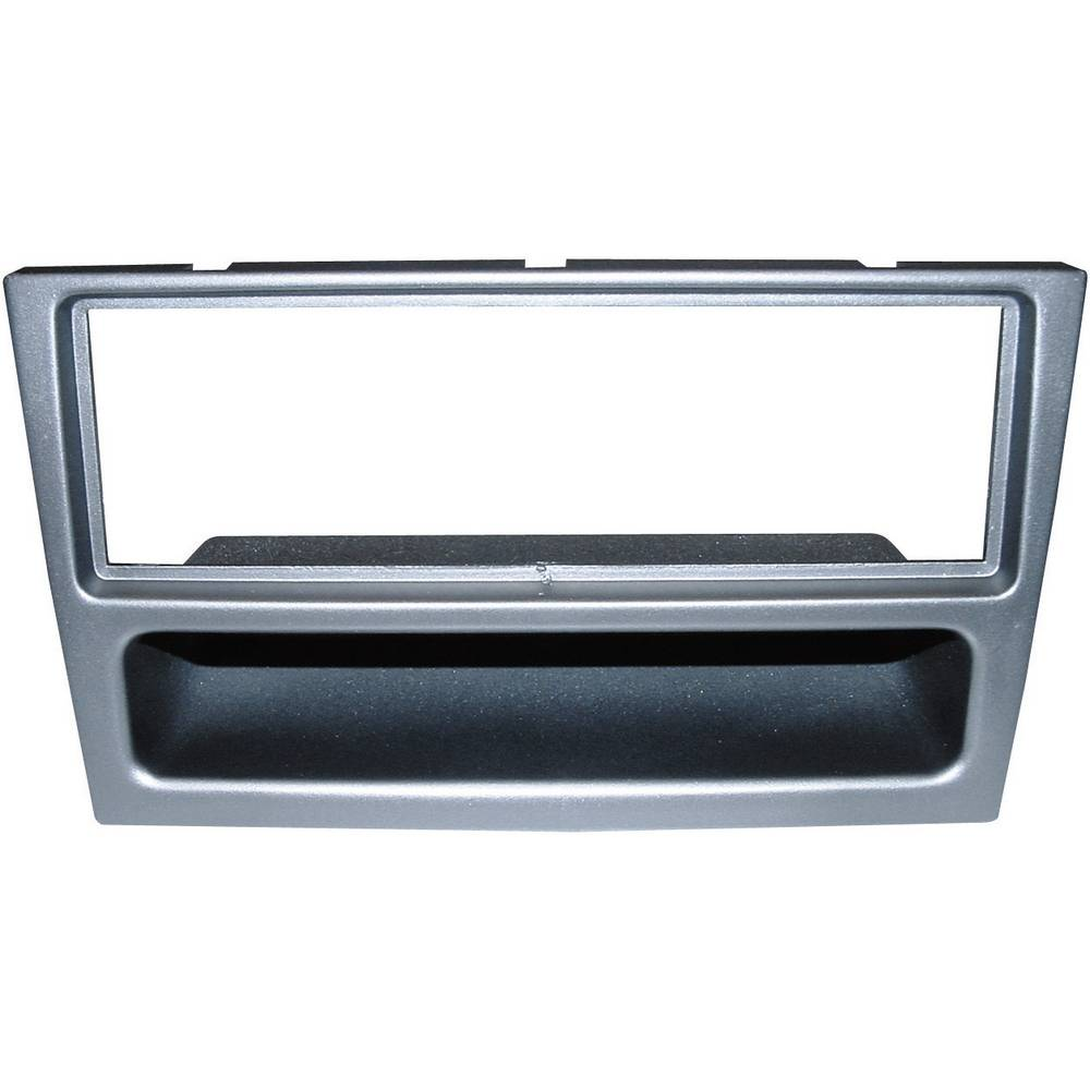 Bilradio indbygningsblændstykke AIV AR-Einbaublende DIN (10C608) Opel Corsa fra 10.00 Sølv
