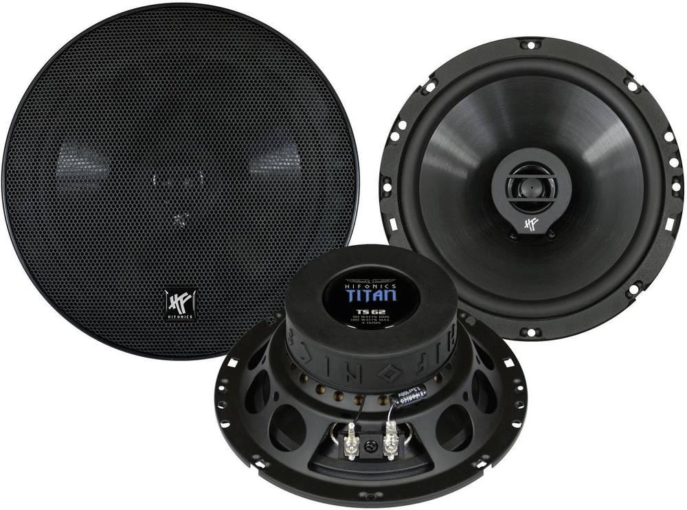 2-sustavni koaksijalni zvučnici Hifonics Titan, 16, 5 cm