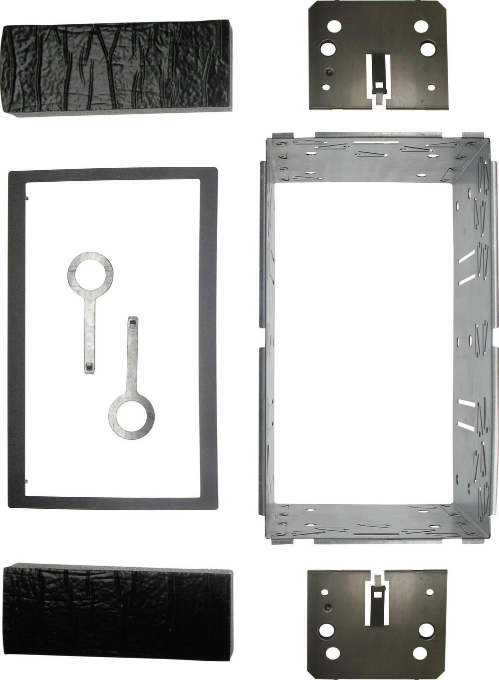 Ugradni okvir, 183 x 101 mm, dvojni DIN 12C513 AIV