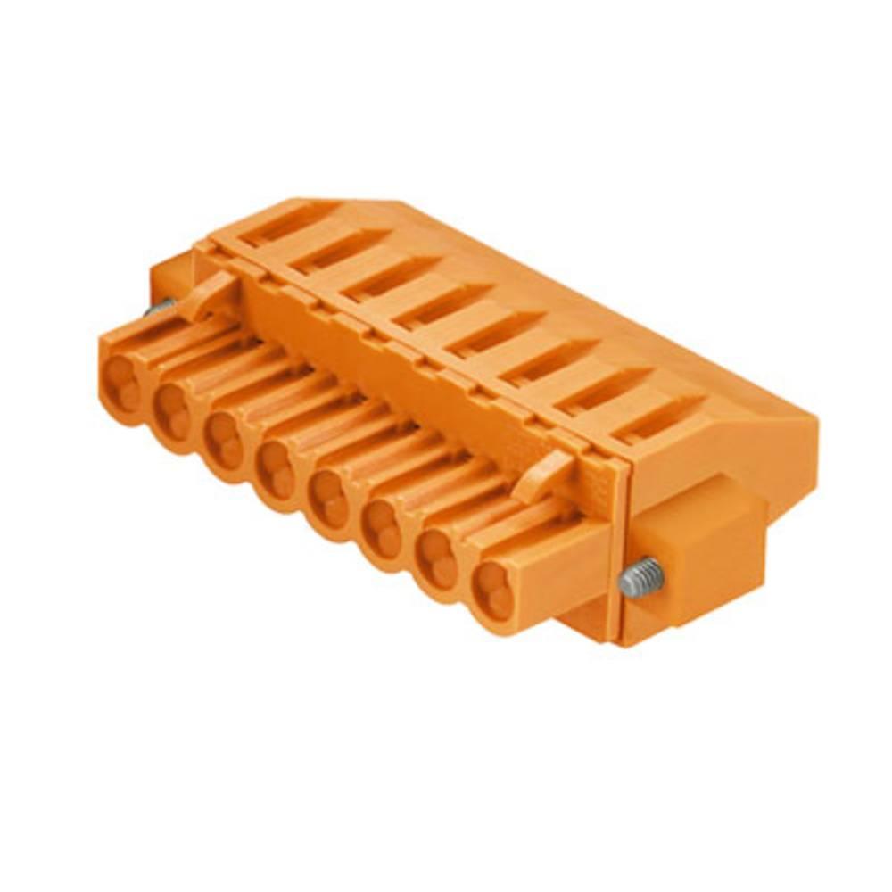 Tilslutningskabinet-kabel BL/SL Samlet antal poler 3 Weidmüller 1950560000 Rastermål: 5.08 mm 72 stk