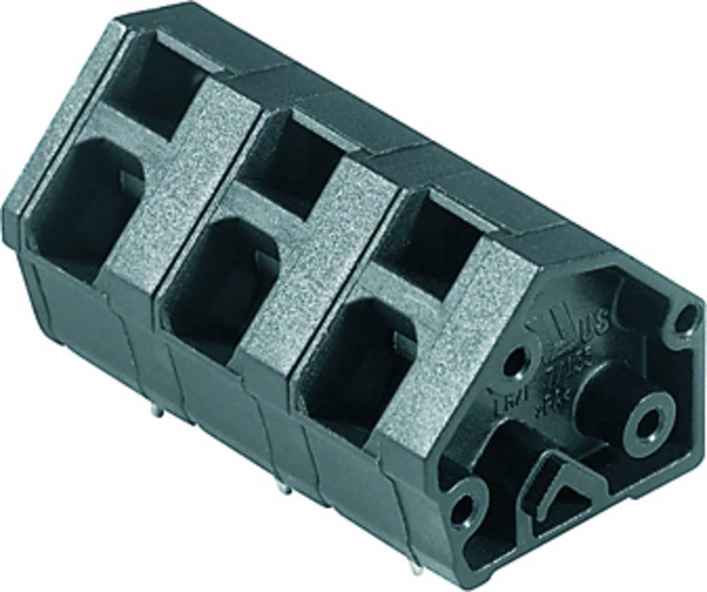 Fjederkraftsklemmeblok Weidmüller LMZF 7/5/135 3.5SW 2.50 mm² Poltal 5 Sort 100 stk