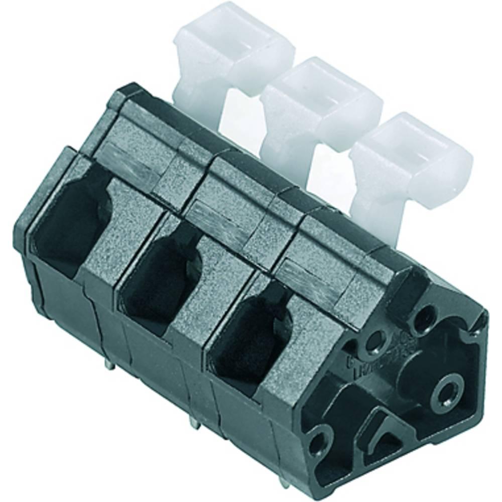 Fjederkraftsklemmeblok Weidmüller LMZFL 7/3/135 3.5SW 2.50 mm² Poltal 3 Sort 100 stk