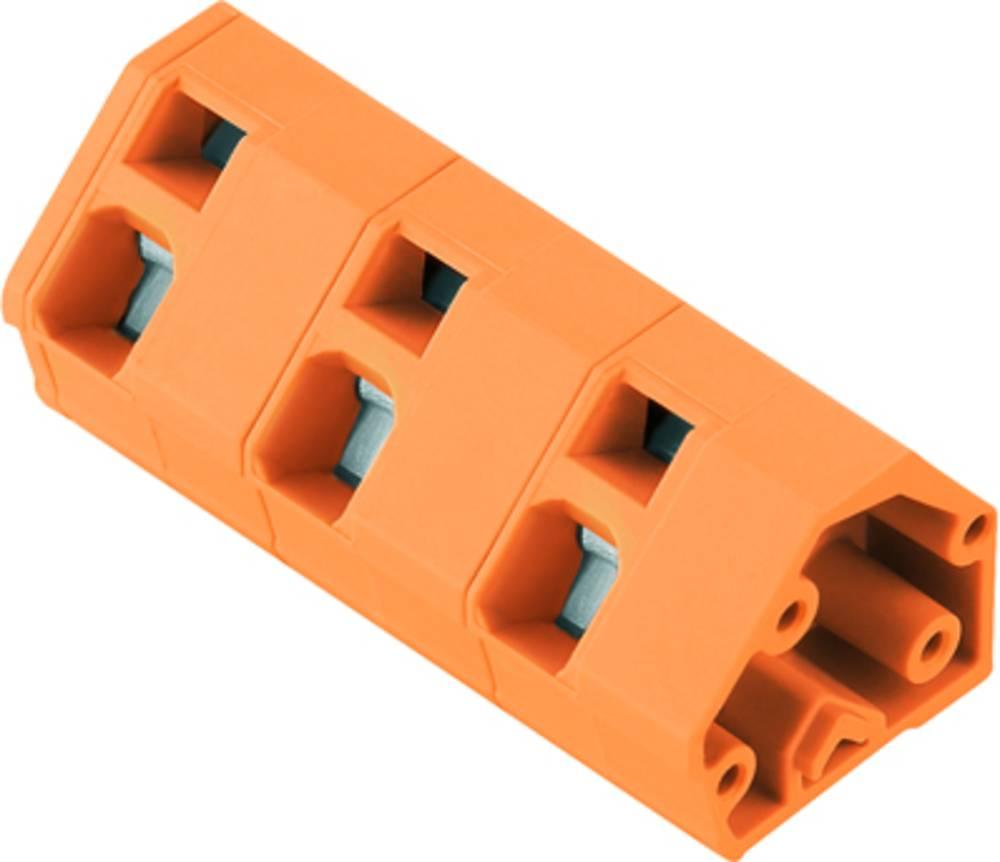 Fjederkraftsklemmeblok Weidmüller LMZF 10/2/135 3.5OR 2.50 mm² Poltal 2 Orange 100 stk