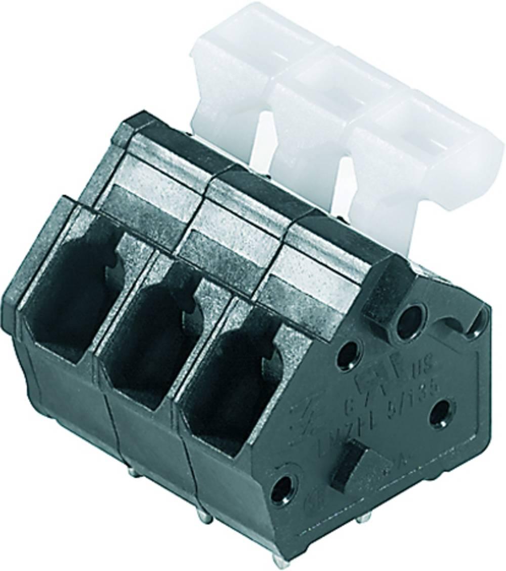 Fjederkraftsklemmeblok Weidmüller LMZFL 5/15/135 3.5SW 2.50 mm² Poltal 15 Sort 50 stk