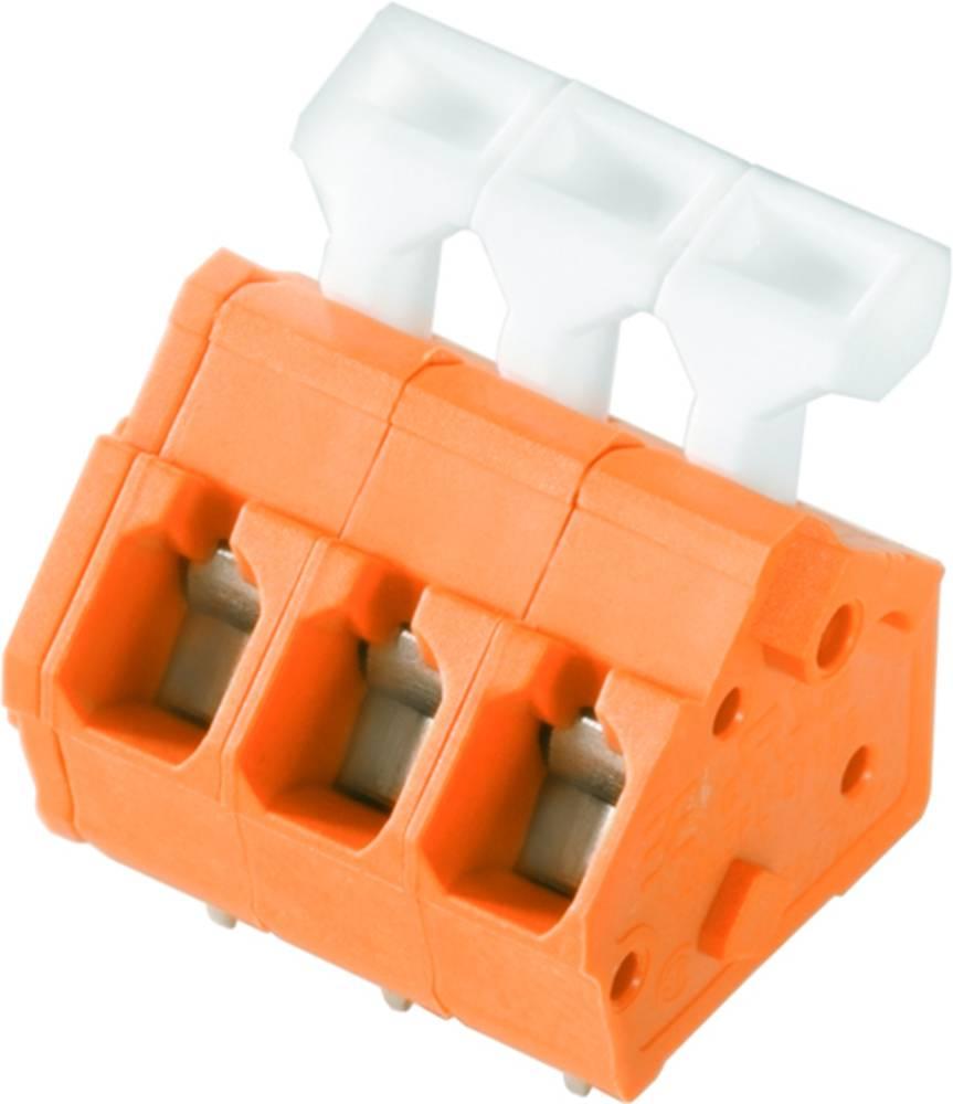 Fjederkraftsklemmeblok Weidmüller LMZFL 5/21/135 3.5OR 2.50 mm² Poltal 21 Orange 50 stk