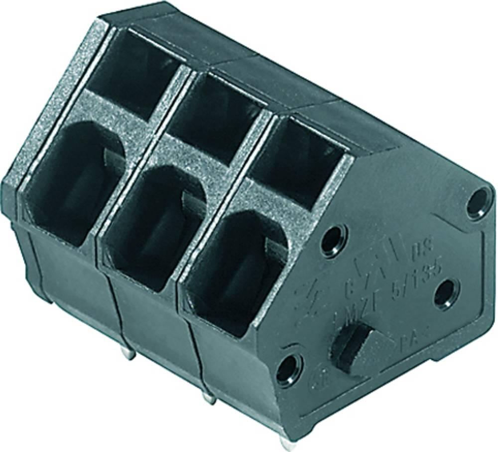 Fjederkraftsklemmeblok Weidmüller LMZF 5/15/135 3.5SW 2.50 mm² Poltal 15 Sort 100 stk