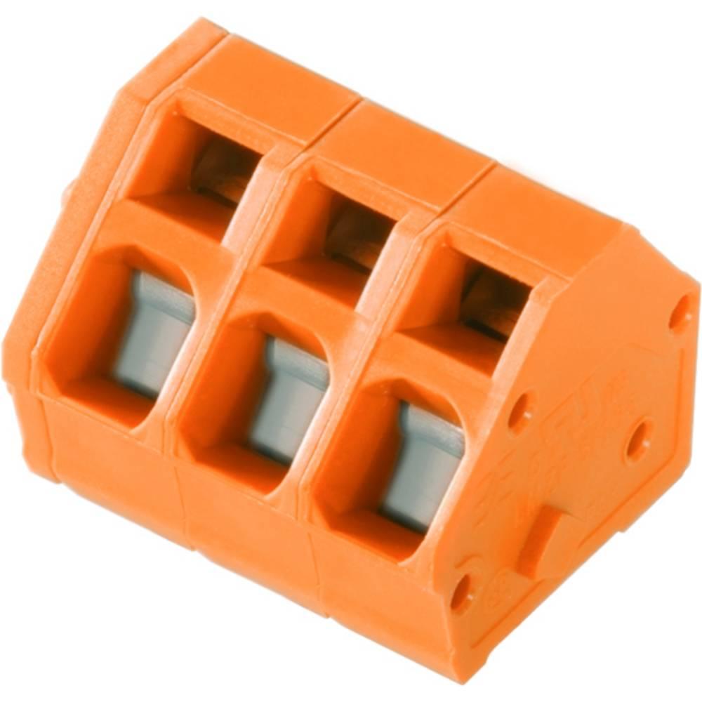 Fjederkraftsklemmeblok Weidmüller LMZF 5/15/135 3.5OR 2.50 mm² Poltal 15 Orange 100 stk