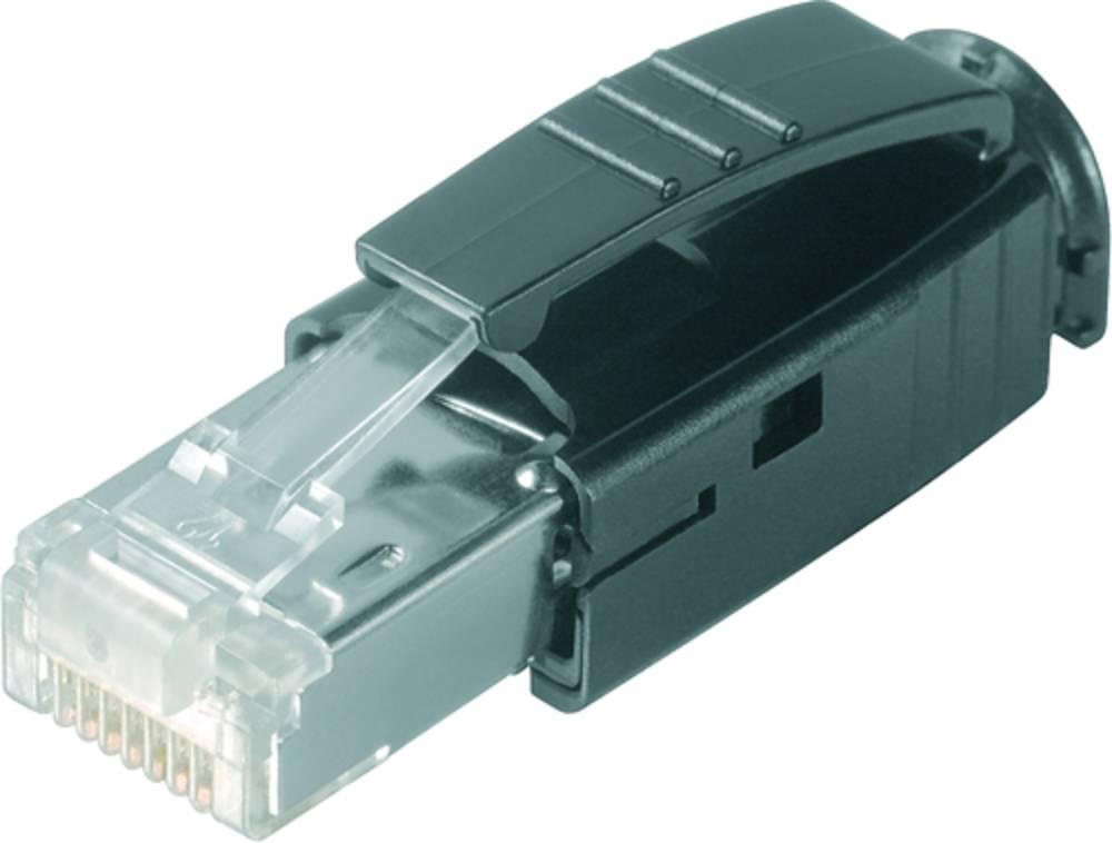 Sensor-/Aktor-datastikforbinder Weidmüller IE-PS-RJ45-TH-BK 10 stk