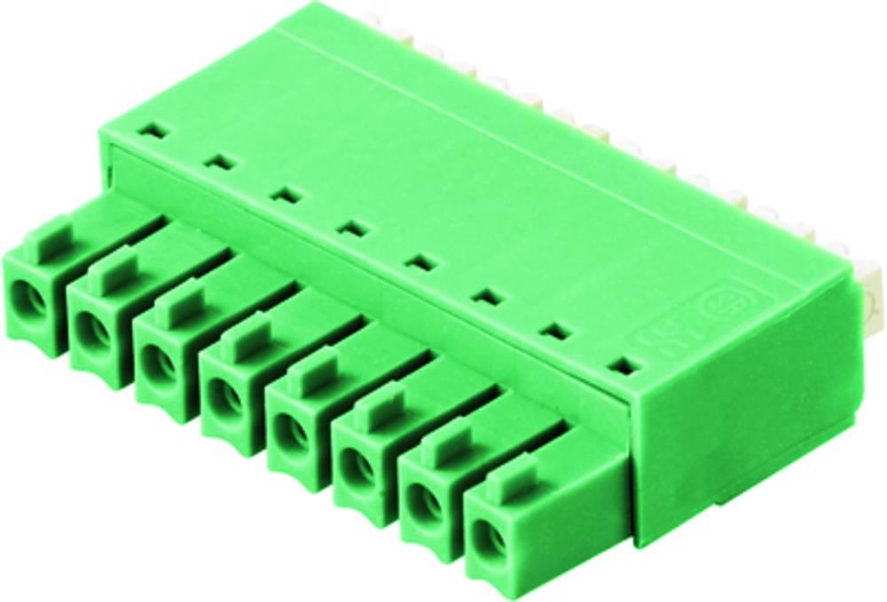Tilslutningskabinet-kabel BC/SC Samlet antal poler 8 Weidmüller 0405046/D Rastermål: 3.81 mm 50 stk