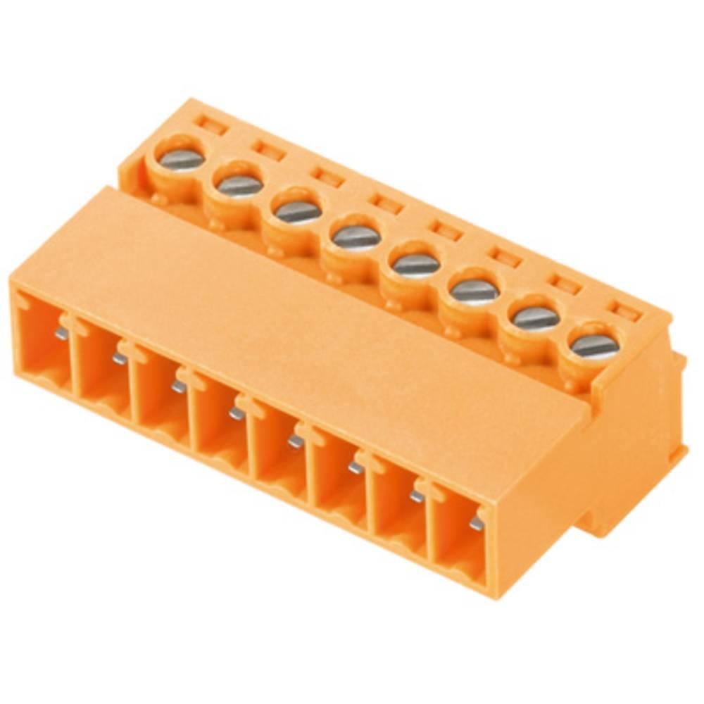 Stiftkabinet-kabel BC/SC Samlet antal poler 4 Weidmüller 0406010 Rastermål: 3.81 mm 50 stk