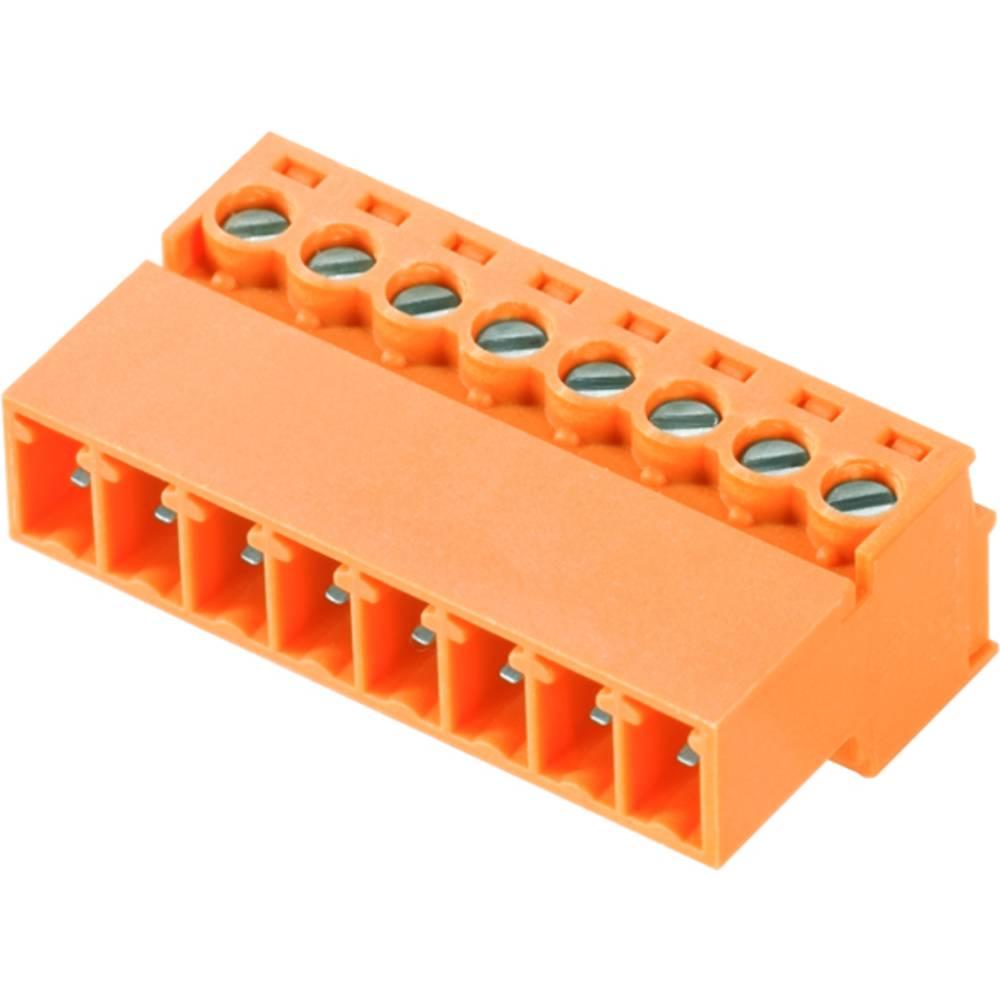 Stiftkabinet-kabel BC/SC Samlet antal poler 8 Weidmüller 0405048/D Rastermål: 3.81 mm 50 stk