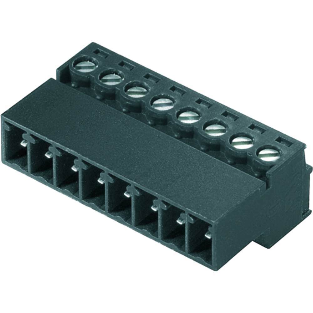 Vtični konektor za tiskana vezja Weidmüller 1970080000 vsebuje: 50 kosov