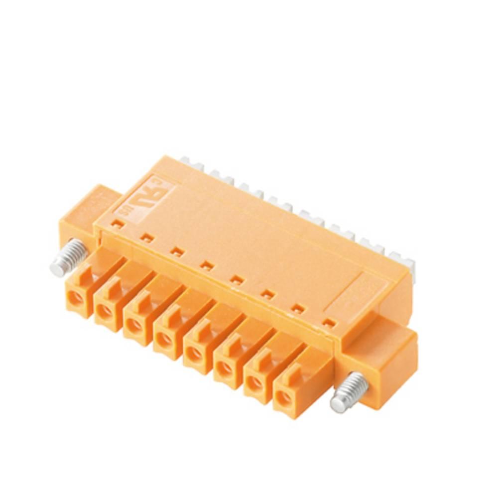 Vtični konektor za tiskana vezja oranžne barve Weidmüller 1970890000 vsebuje: 50 kosov