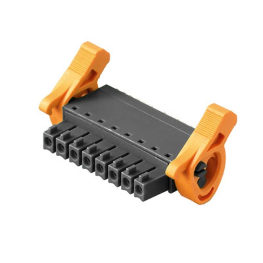 Vtični konektor za tiskana vezja črne barve Weidmüller 1972640000 vsebuje: 50 kosov