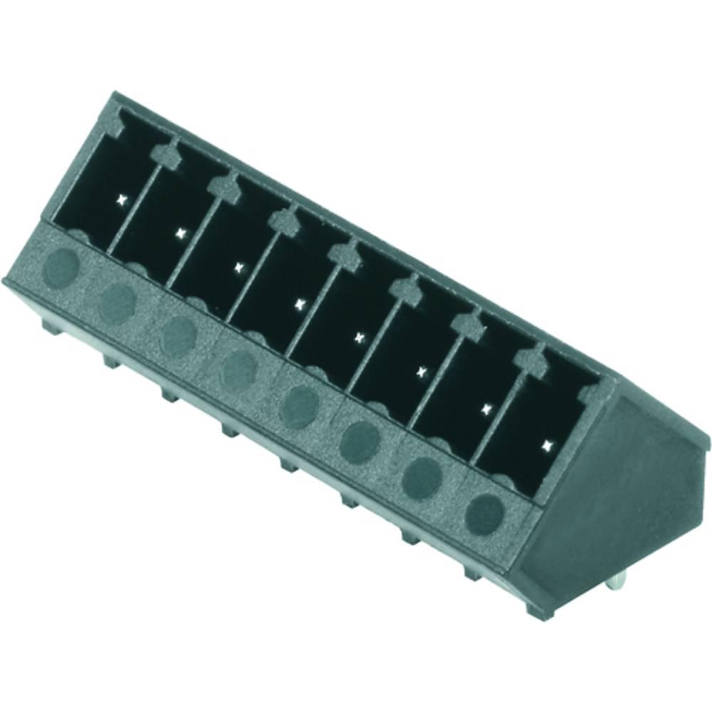 Vtični konektor za tiskana vezja črne barve Weidmüller 1976540000 vsebuje: 50 kosov