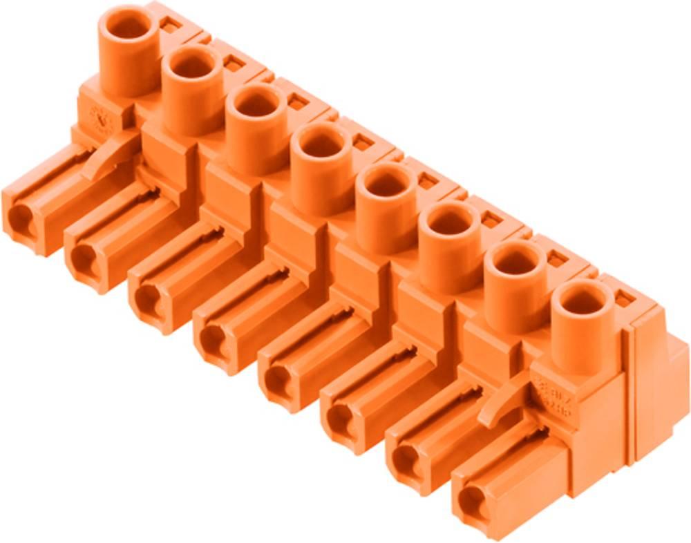 Tilslutningskabinet-kabel BL/SL Samlet antal poler 10 Weidmüller 1980560000 Rastermål: 7.62 mm 50 stk