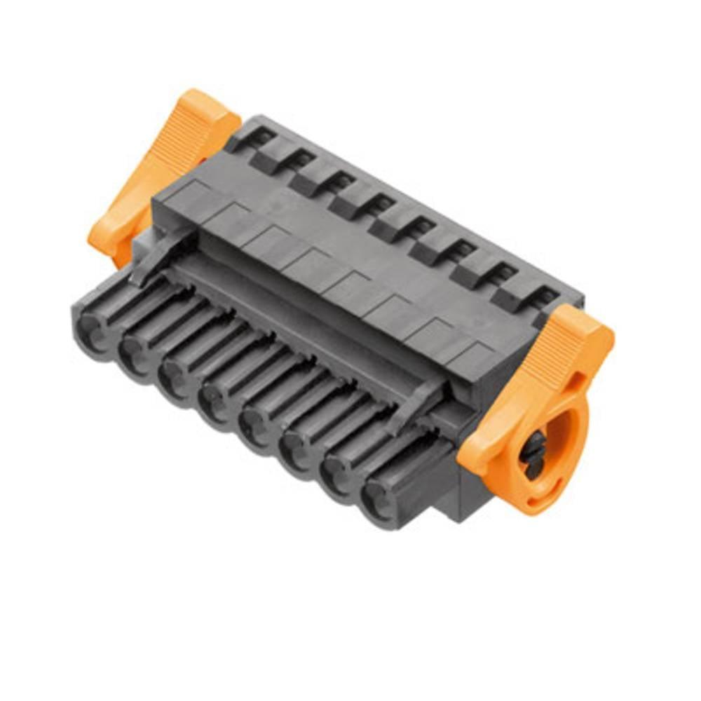 Vtični konektor za tiskana vezja Weidmüller 1982470000 vsebuje: 18 kosov