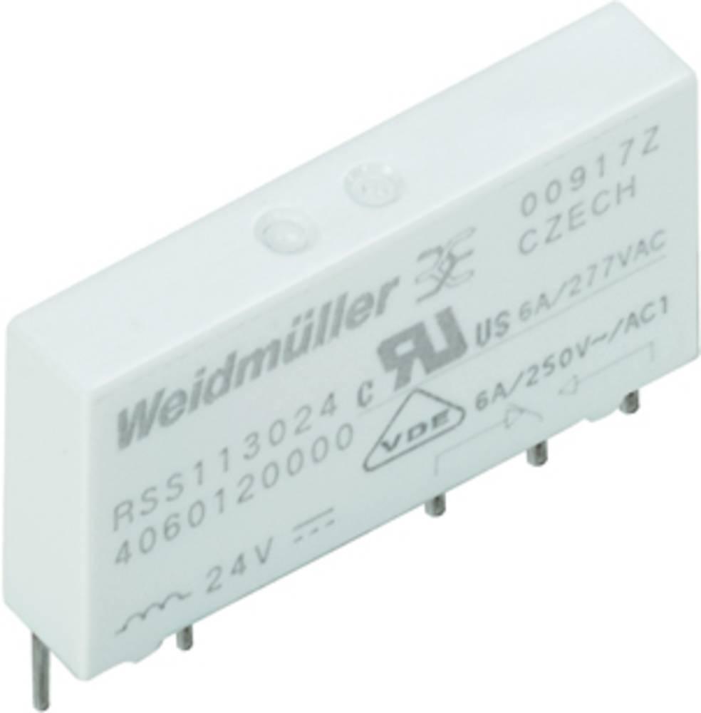 Stikrelæ 48 V/DC 6 A 1 x skiftekontakt Weidmüller RSS113048 48VDC-REL1U 20 stk