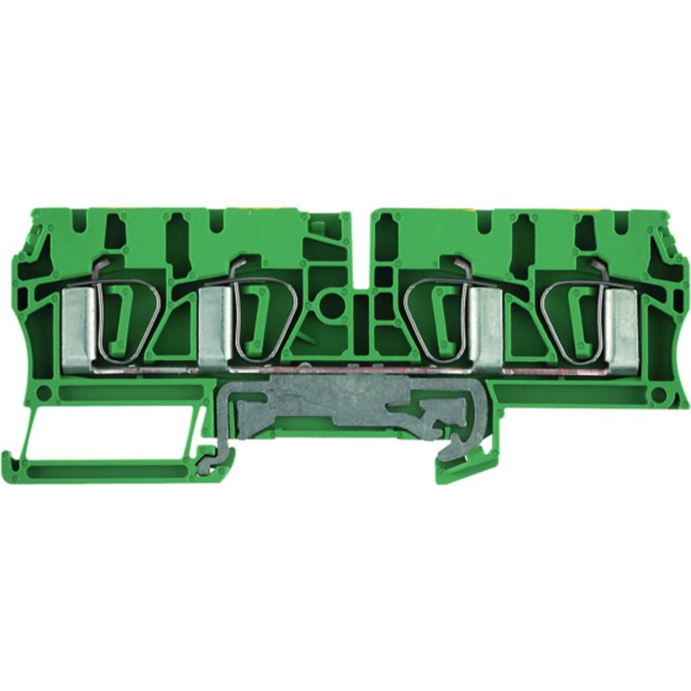Beskyttende leder klemrække Weidmüller ZPE 4/4AN 7904280000 50 stk