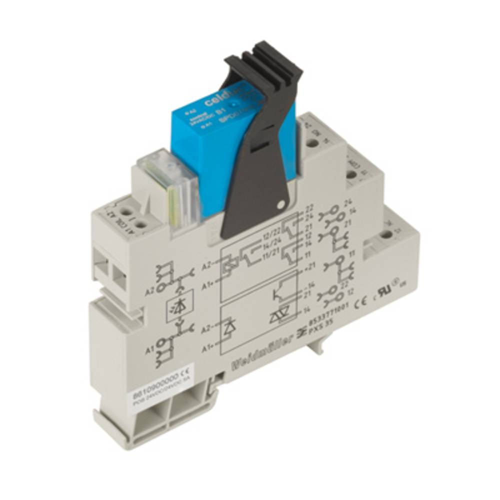 Solid-State releji 10 kosov Weidmüller POS 24VDC/230VAC 4A