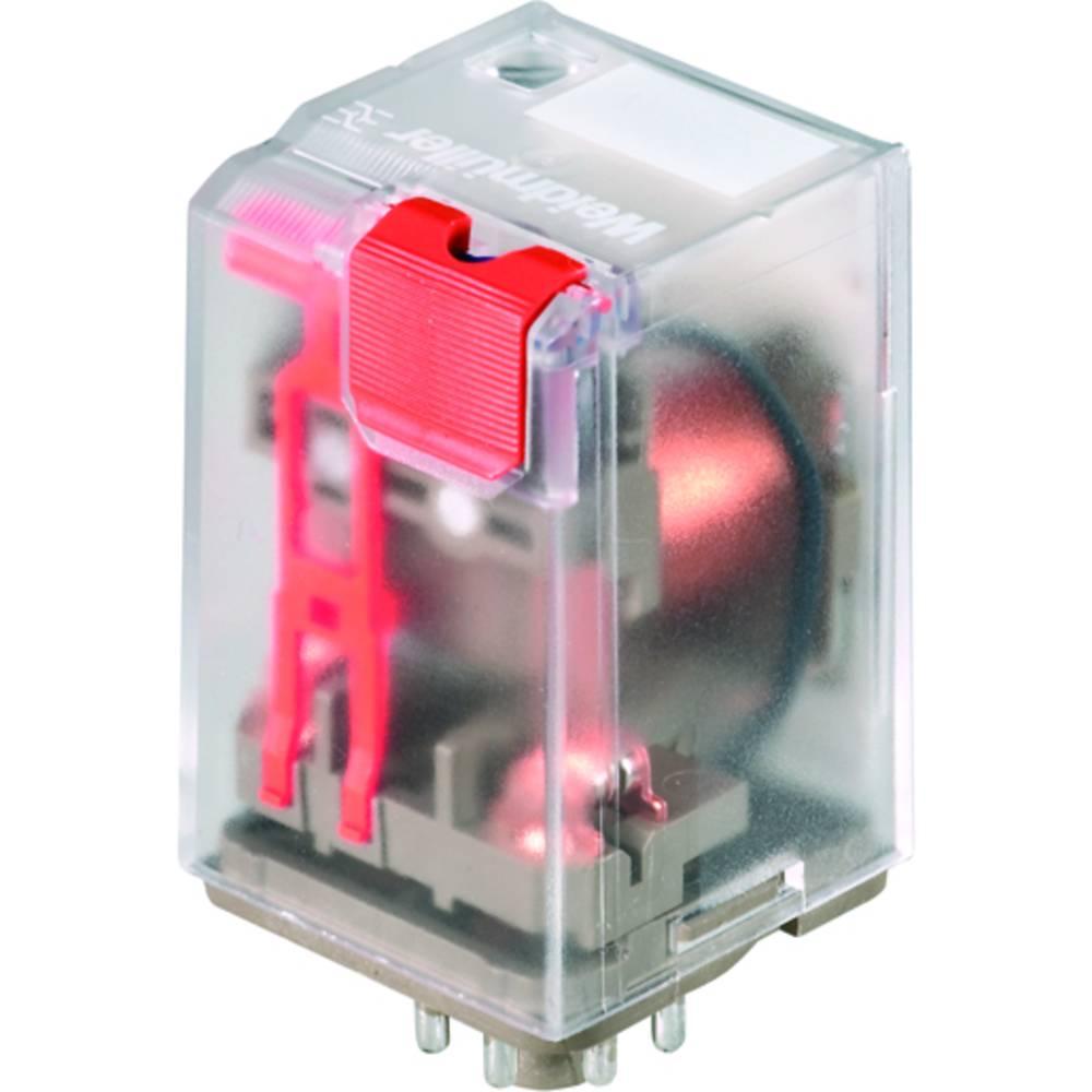 Vtični releji 24 V/AC 10 A 2 x preklopni Weidmüller RRD228024 25 kosov
