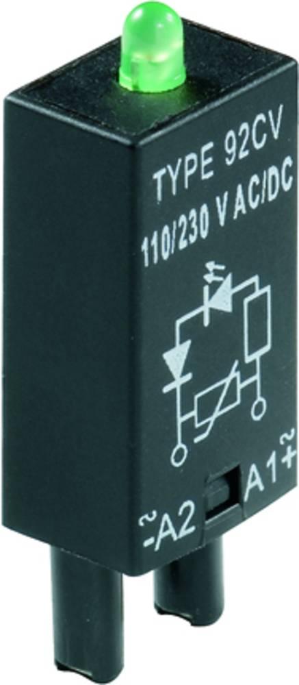 Indstiksmodul med LED, Med friløbsdiode 10 stk Weidmüller RIM 2 6 / 24VDC GN Lysfarve: Grøn Passer til serie: Weidmüller serie R