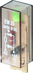 Indstiksmodul med LED, Med friløbsdiode 10 stk Weidmüller RIM I 2 6 / 24VDC GN Lysfarve: Grøn Passer til serie: Weidmüller serie
