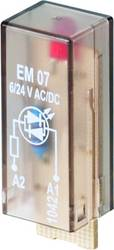 Indstiksmodul med LED 10 stk Weidmüller RIM-I 3 24 / 60VUC Lysfarve: Rød Passer til serie: Weidmüller serie RIDERSERIES RCI, Wei