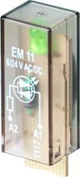 Indstiksmodul med LED 10 stk Weidmüller RIM I 3 6 / 24VUC GN Lysfarve: Grøn Passer til serie: Weidmüller serie RIDERSERIES RCI,