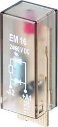 Indstiksmodul med LED, Med friløbsdiode 10 stk Weidmüller RIM I2 110 / 230VDC Lysfarve: Rød Passer til serie: Weidmüller serie R