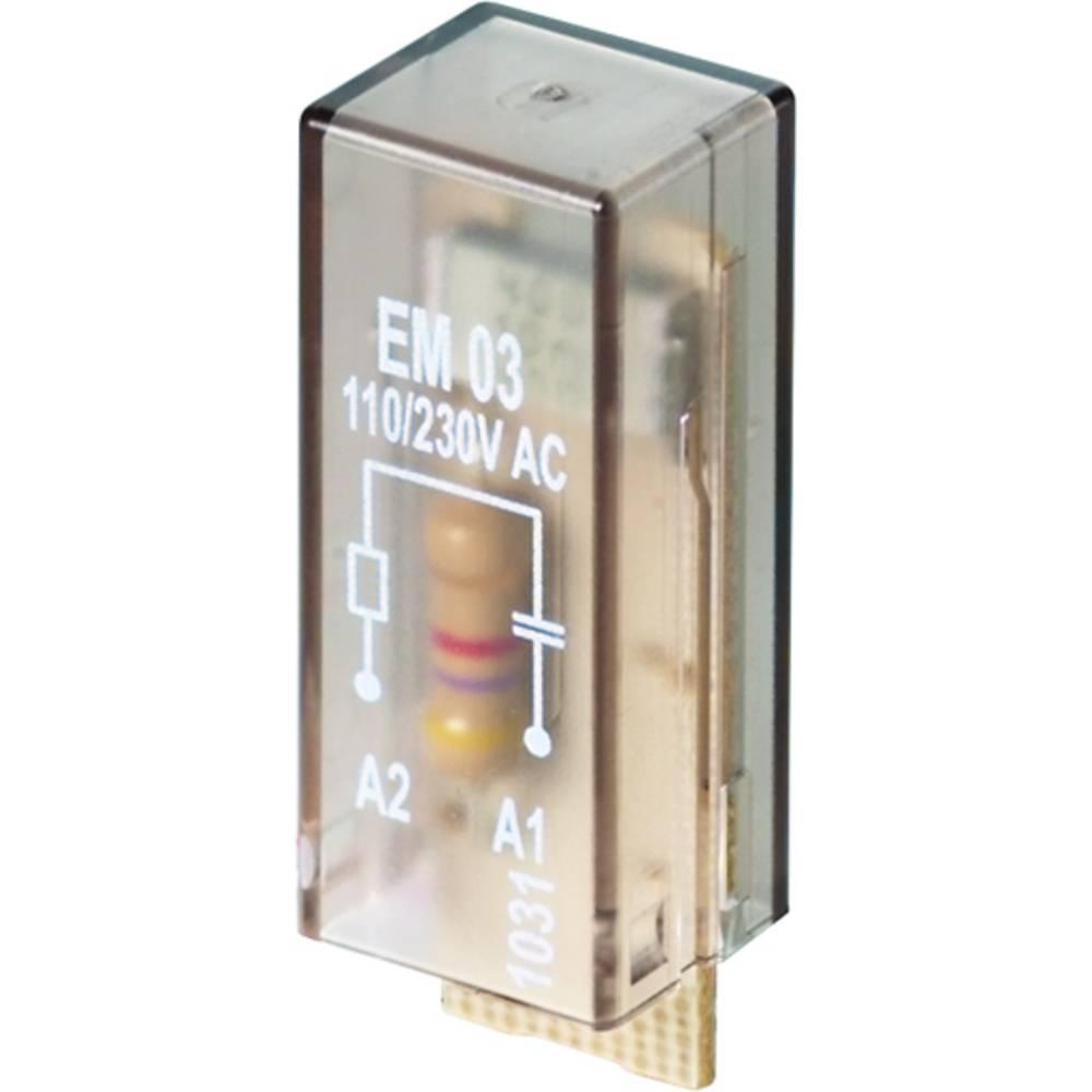 Indstiksmodul Med RC-led, Uden LED 10 stk Weidmüller RIM I 3 110 / 230VAC RC Passer til serie: Weidmüller serie RIDERSERIES RCI,