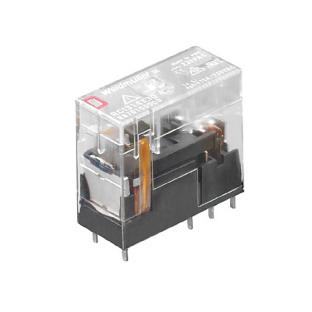 Vtični releji 230 V/AC 16 A 1 x preklopni Weidmüller RCI314730 10 kosov