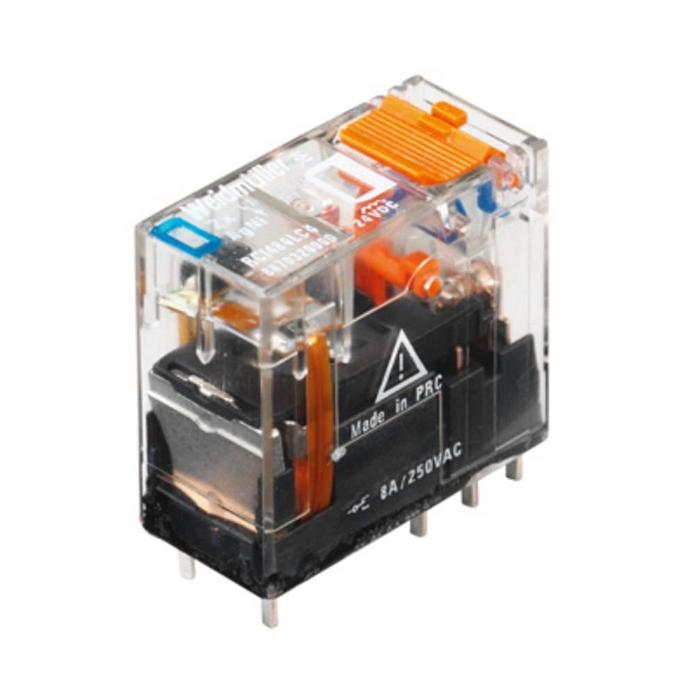Vtični releji 230 V/AC 16 A 1 x preklopni Weidmüller RCI374730 10 kosov