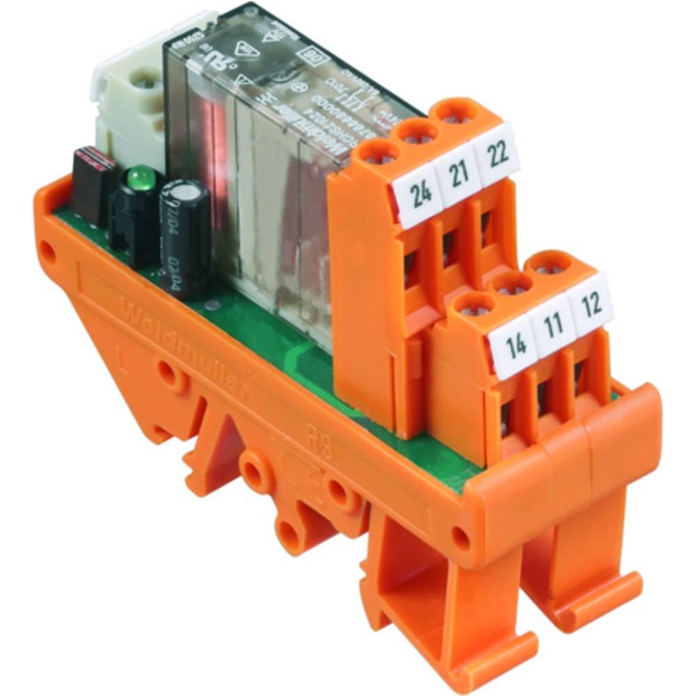 Tiskano vezje za rele 10 kosov Weidmüller RS30 24VDC 1U LD GE 1 x preklopni