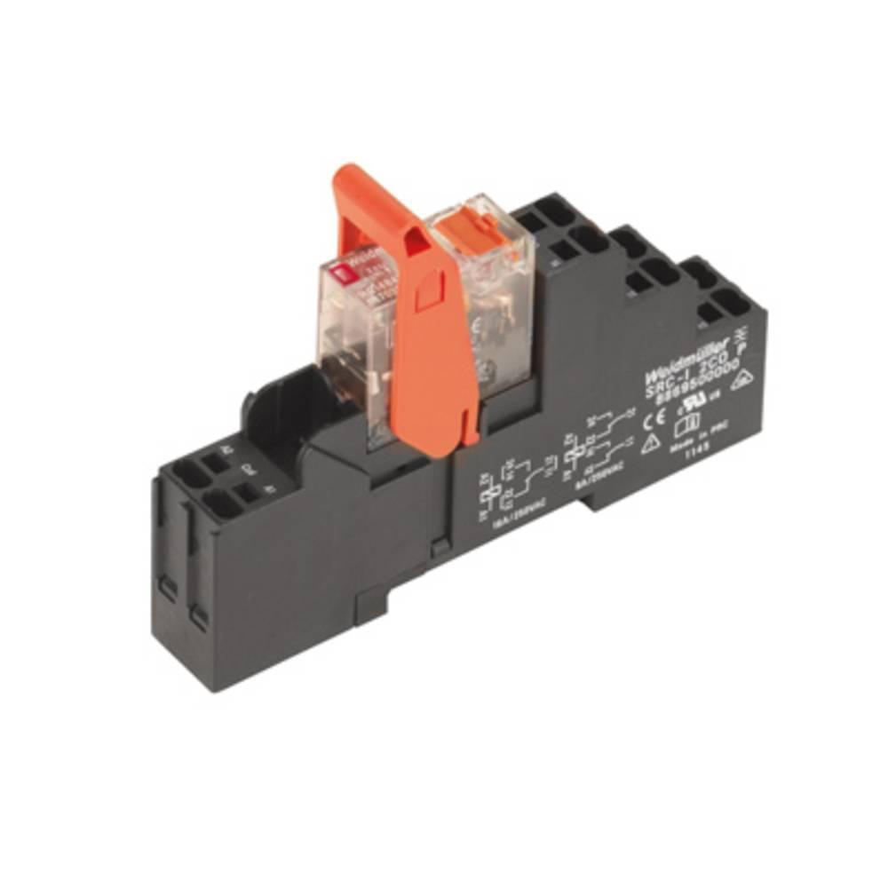 Relækomponent 10 stk Weidmüller RCIKITP115VAC 1CO LD/PB Nominel spænding: 115 V/AC Brydestrøm (max.): 16 A 1 x skiftekontakt