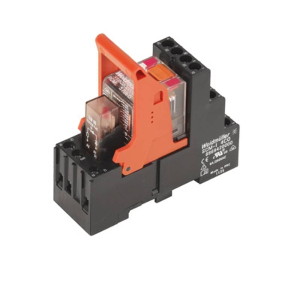 Relækomponent 10 stk Weidmüller RCMKIT-I 230VAC 4CO LD Nominel spænding: 230 V/AC Brydestrøm (max.): 6 A 4 x omskifter