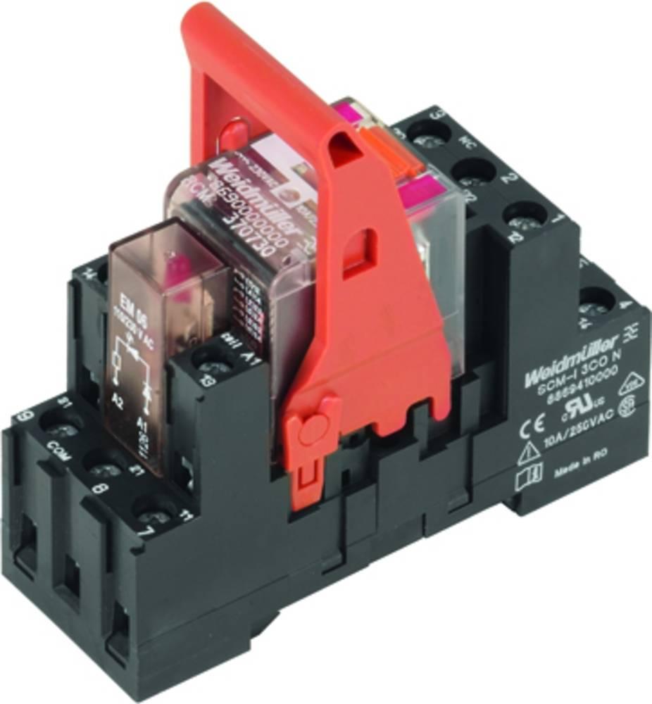 Relækomponent 10 stk Weidmüller RCMKIT-I 230VAC 3CO LD Nominel spænding: 230 V/AC Brydestrøm (max.): 10 A 3 x omskifter