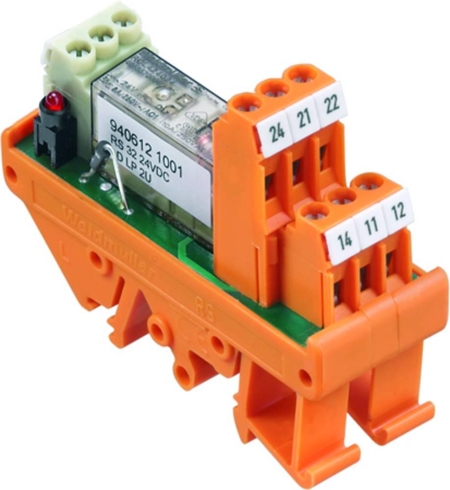 Tiskano vezje za rele 10 kosov Weidmüller RS 32 48VDC LD LP 2U 2 x preklopni