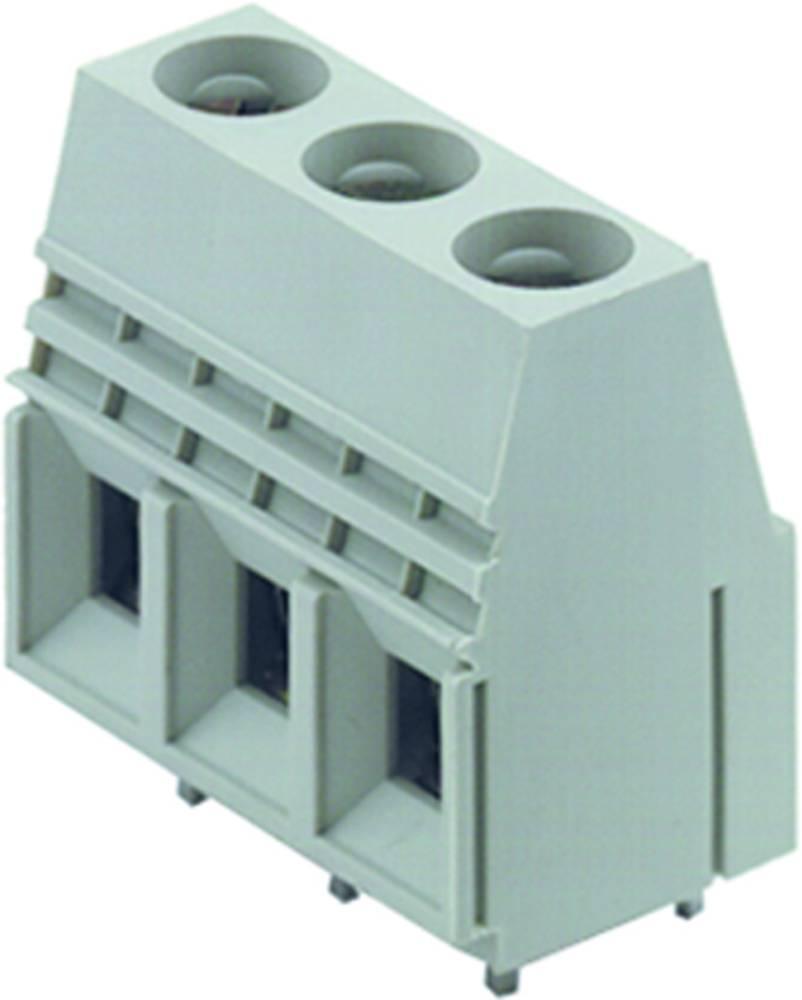 Skrueklemmeblok Weidmüller LU 10.16/10/90 4.5SN GY BX 16.00 mm² Poltal 10 Grå 20 stk