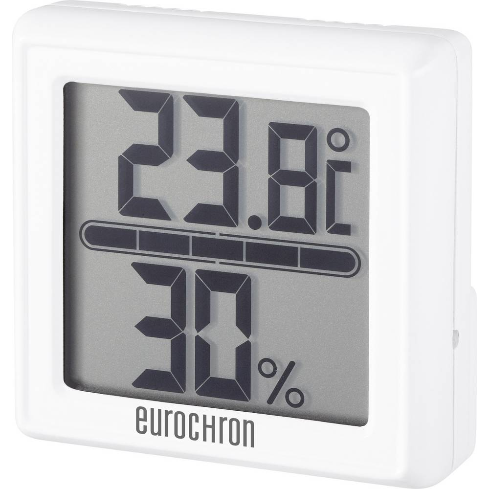 Termo-/Hygrometer Eurochron ETH 5500 Vit