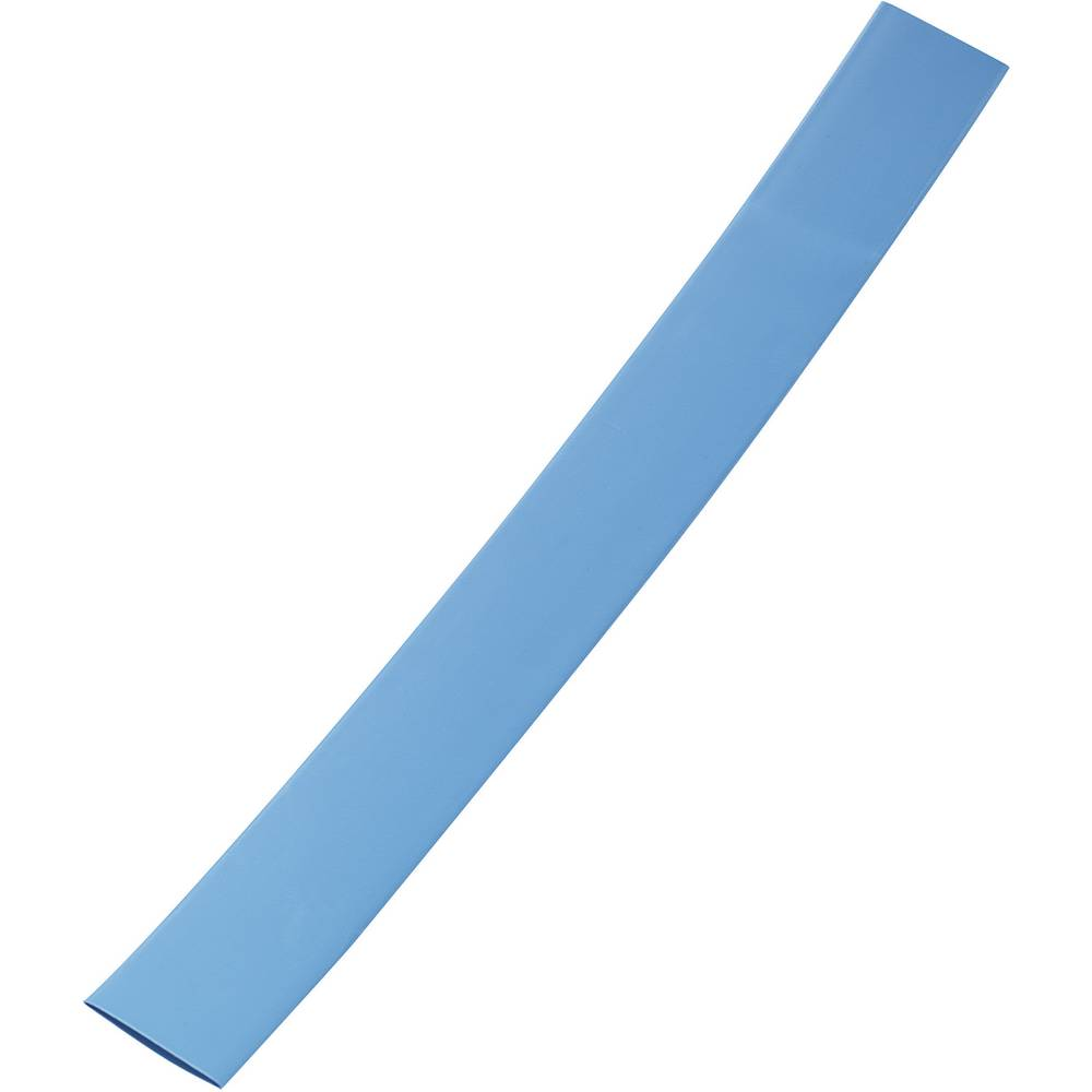 Tankostenska skrčljiva cev pred/po krčenju: 9 mm/3 mm razmerje 3:1 modra