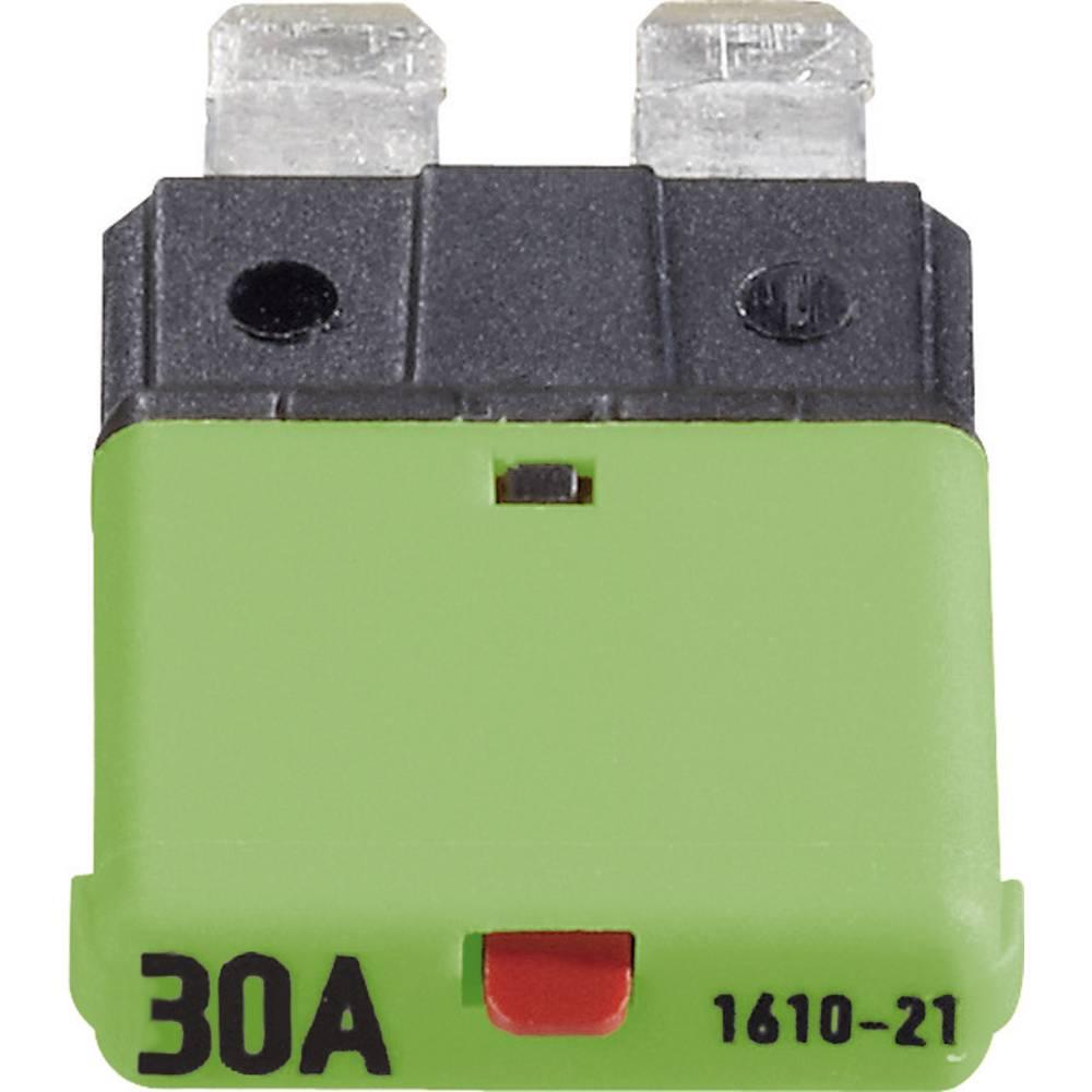 Sikringsautomat Standard Fladsikring 30 A Grøn FLACHSICHERUNGS-AUTOMAT 30 A CE1610-21-30A 1 stk