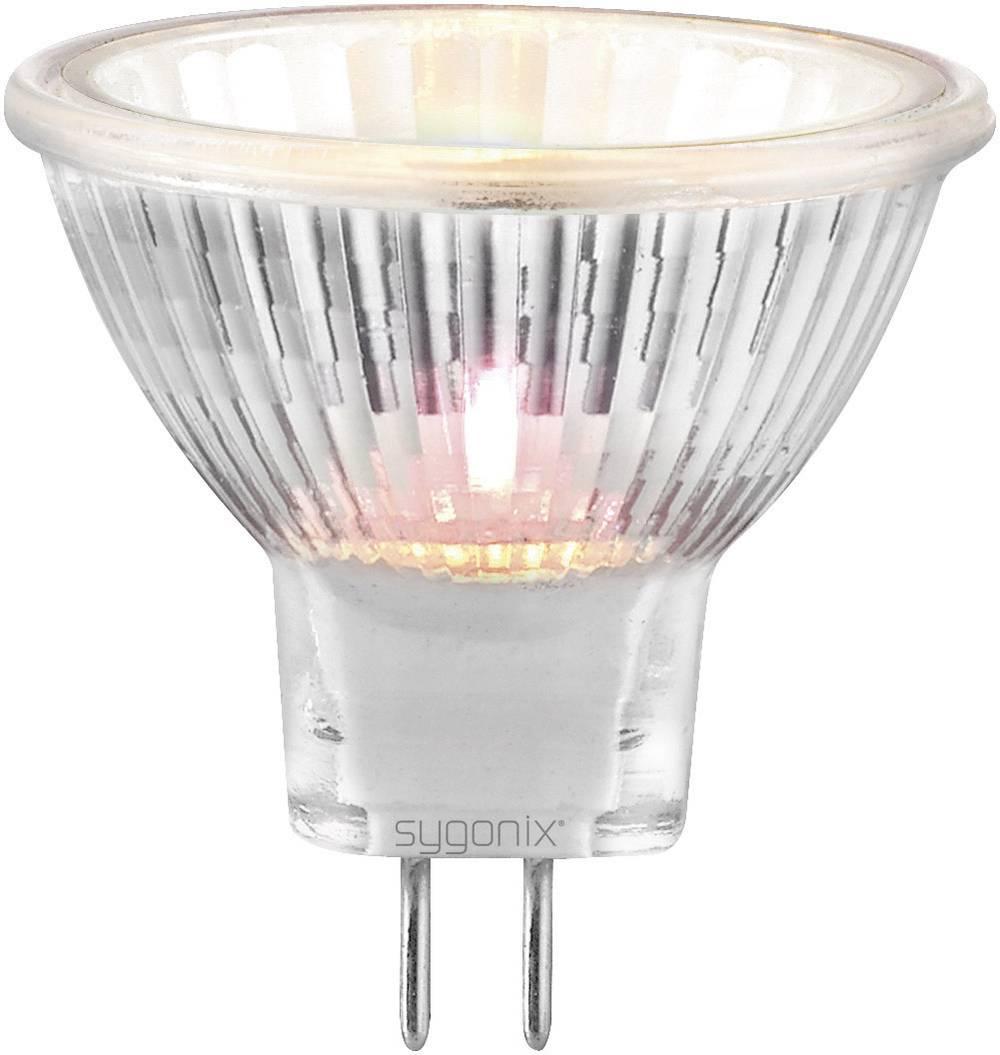halogenska žarnica 35 mm Sygonix 12 V G4 35 W reflektor,toplo bela zatemnilni vsebina 3 kos 20367Y